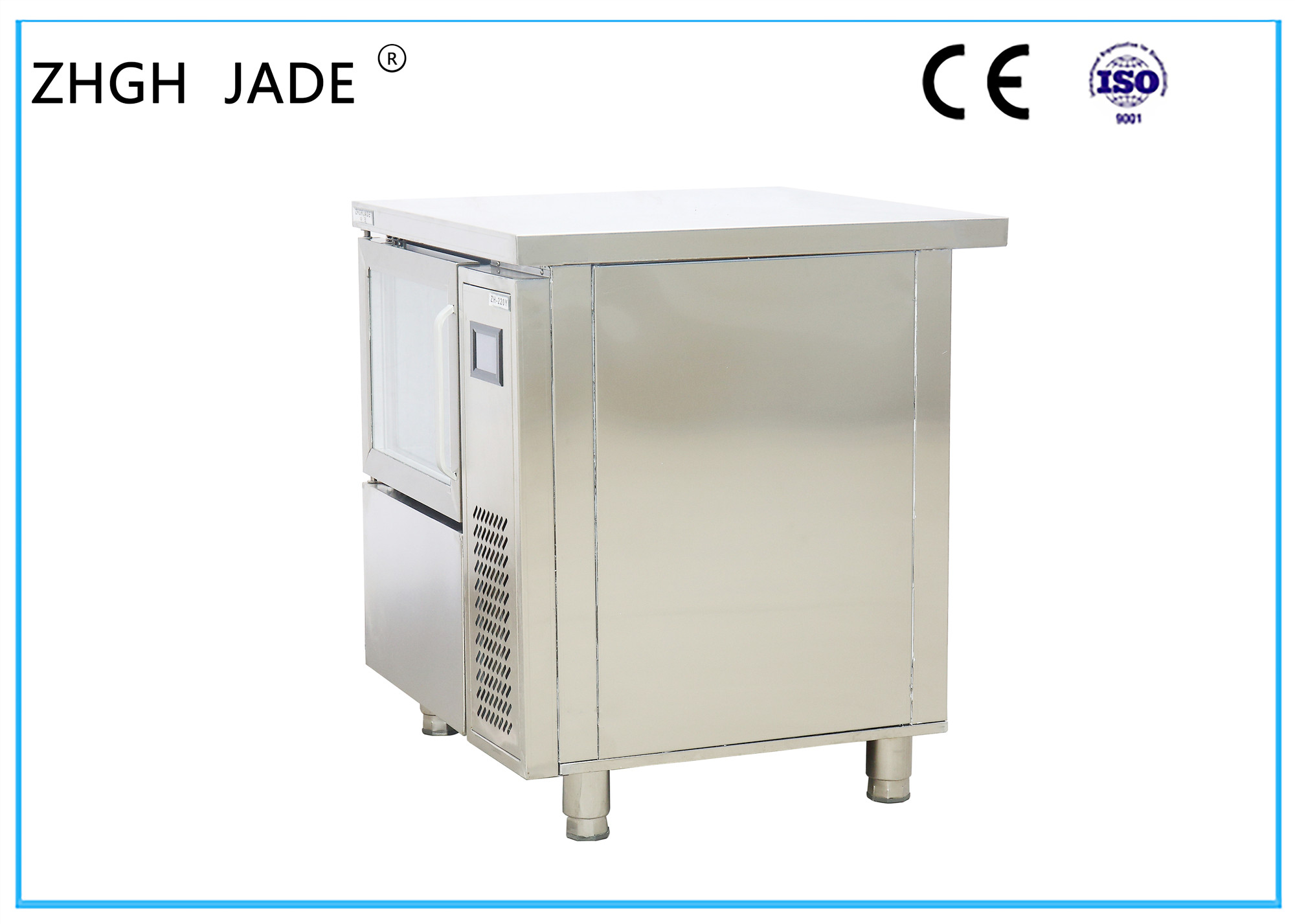 Water Cooling Bar Ice Cube Maker Ss 304 Ice Production Machine Small Size